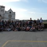 I ragazzi di 1 e 2 media ad Assisi